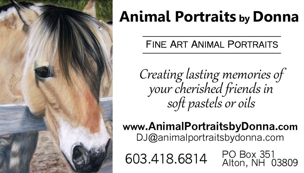 Contact Fine Art Animal and Pet Portrait Artist Donna - Animal ...